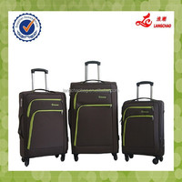 Soft Fabric EVA 1200D 600D Material Nylon Suitcase Trolley Case Bags China Factory