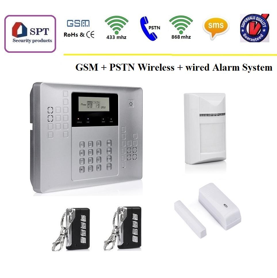 Cp-21a Gsm Wireless Home Burglar Security Alarm System - Buy Gsm ...