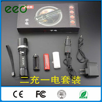 Wholesale 500 lumen t6 best led tactical police security emergency high power flashlight