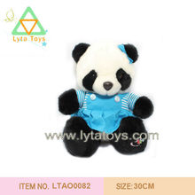 ISO 9001 Factory Wholesale Customized Cute Stuffed Panda