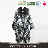 High Quality Popular Cheap womens open front poncho