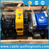 8T YAMAHA Petrol Engine Powered Winch for Pulling Rope