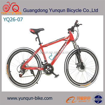 red color 26inch mountain bike 21speed