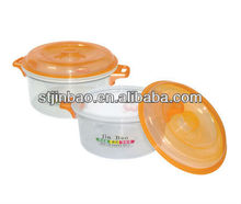 Hot sale promotional gift 900ml Food Grade PP Plastic Soup tureen with lid