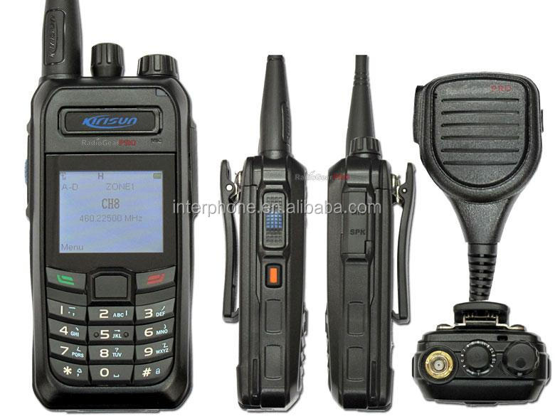 Cheap radio,KIRISUN S760U 400-470MHZ Digital walkie talkie 2-way radio UHF + rain proof mic