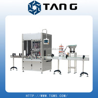 sunflower oil bottle filling and capping machine