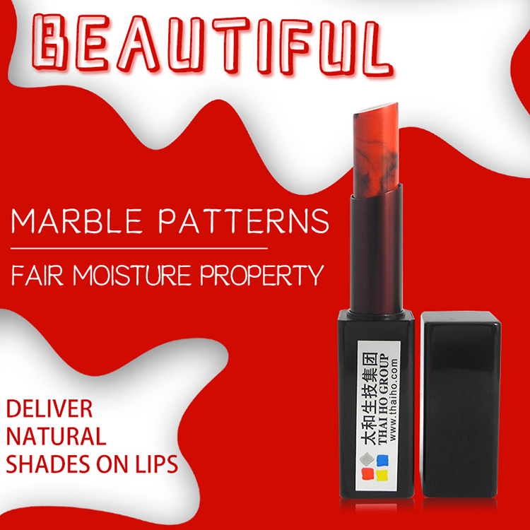 Wholesale High Quality Labiales Custom Lipstick No Logo Private Label Matte Marble Lipstick For Lady