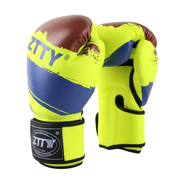 hot new products for 2017 PU Leather winning kick Custom Boxing Gloves