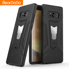Newest Design 2 in 1 armor bumper case for samsung galaxy note 8,for samsung galaxy note 8 hard cover case