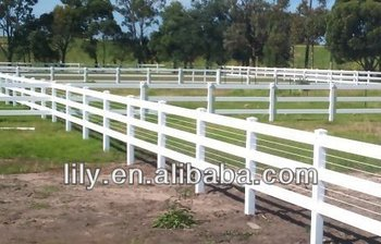 pvc horse fence buy horse paddock fence 3 rail ranch fence ranch style fencing product on. Black Bedroom Furniture Sets. Home Design Ideas