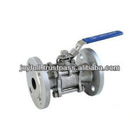Three Piece Stainless Steel Flange Ball Valve