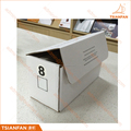 Customzied Corrugated Paper Quartz and Granite Stone Sample Package Box for Marketing
