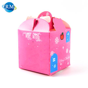 Rongmei Promotional Gift Multi Color Cake Package Recycled Paper Box