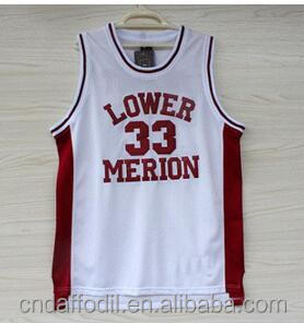Kobe Bryant High School Cheap Kobe Bryant 33 Lower Merion Mesh latest basketball jersey design