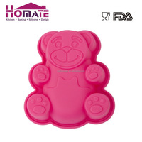 Cake Tools Bear Animals Funny Shape Silicone Jelly Cake Mould
