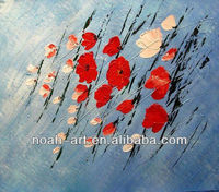Modern abstract flower decorative oil painting of ab6092