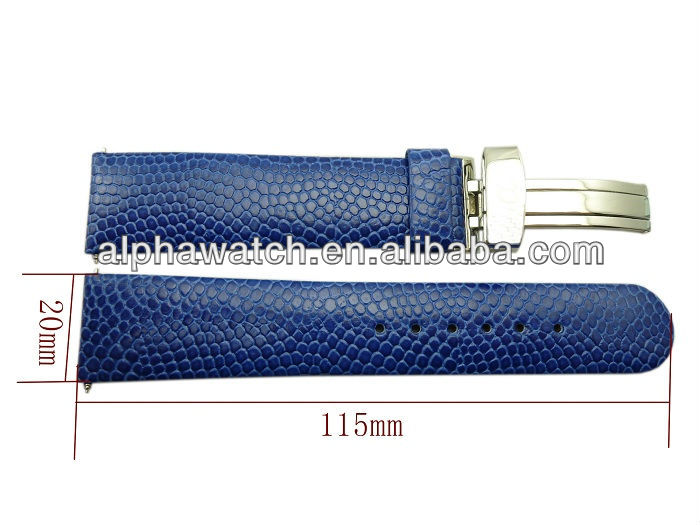 DTN leather watch band