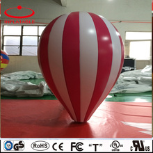 inflatable colorful water drop shape advertising sky helium balloon
