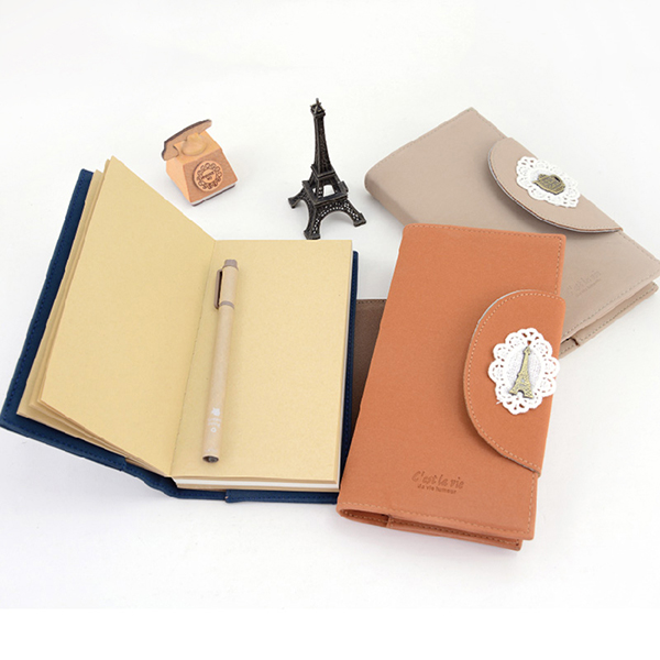 LANGUO 2014 school diary with lock/notebook for writing model:LGBL-2820