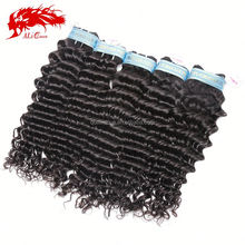 Cutile intact ,soft and smooth touch,6A quality virgin hair peruvian deep wave