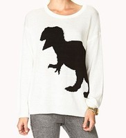 Cartoon ladies sweater