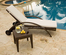 rattan wicker cheap sun lounger patio furniture factory direct wholesale