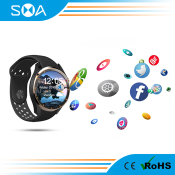 2017 Factory Price GPS Smart Watch Support WIFI/3G/SIM for IOS and Android Smart Watch