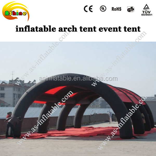 portable inflatable event party tent arch tent