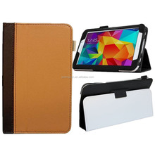 Ultra thin antishock folio stand leather case for Tab 2 7 inches tablet case