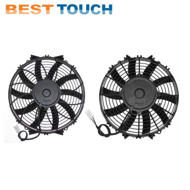 Customized 12V 24V 80w 120w 07'' 09'' 10'' 12'' 14'' <strong>16</strong>' inch automotive parts cooling fan for cars for RENAULT