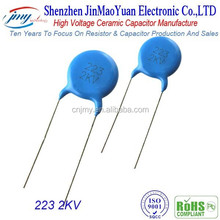 Product Description High Voltage Ceramic Capacitor These High Voltage Ceramic Disc Capacitor are specifically designed for AC a