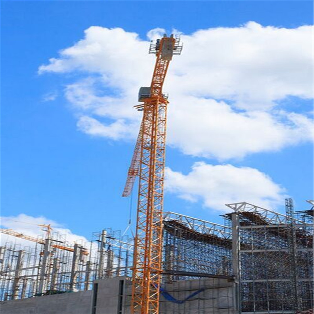 Tower Crane Productivity : Top supplier tower crane of t tip with high