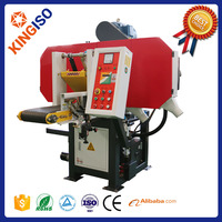 WSM450 best selling electric band saw log band saw horizontal