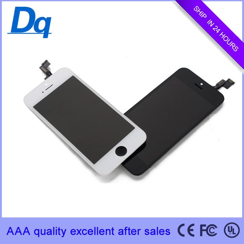 Drop ship to New York, USA Any Color Change Cheap for iphone 5C LCD with Digitizer with Good Quality by DHL courier