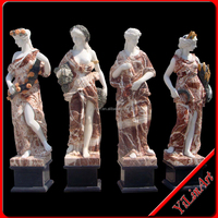 Marble Sculpture, Stone Statue,Marble 4 Season God (YL-R093)