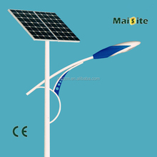 Factory price durable aluminum 60W solar street lights