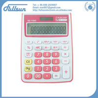 12 digit desktop dual power gift calculator FS-10VC