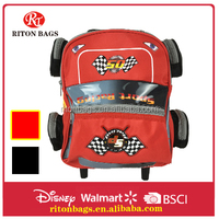 Creative Car Cartoon of School Trolley Backpack Car Model Bag for Kids