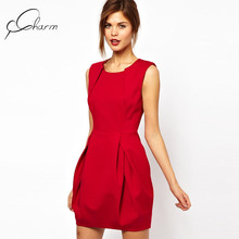 Wholesale Quality-Assured New Design Red Tube Sex Women Party Dress