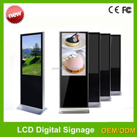42 inch hd led monitor with media player for advertising display