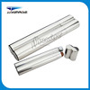 2017 hot sale custom twin tube Stainless Steel Cigar Tube flask