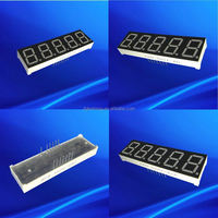 Ultra Red 0.56 inch five 5 digit led digital wall clock