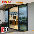 Chinese Suppliers aluminum sliding doors with AS 2047/AS2208/CE