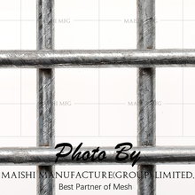 Black iron wire material PVC coated welded wire mesh