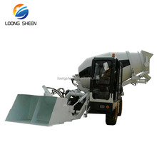 2.6 Cubic Meters Self Loading Concrete Mixer Truck For Sale