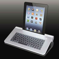 active audio bluetooth Keyboard speaker portable for ipad/table PC