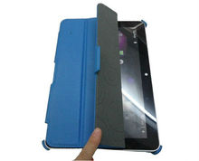 For samsung galaxy tab p7500,ultra thin leather case,stand design.