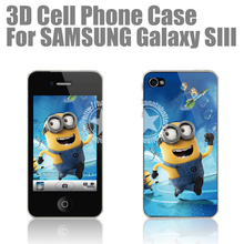 [HANATA] 3D Precious Milk Dad Minions Mobile Phone Case for Samsung Galaxy S3 SIII i9300 Made in China