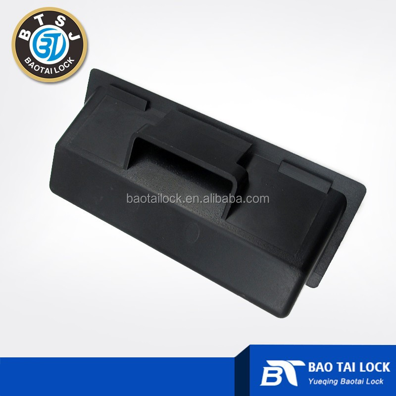 Plastic door handle for cabinet