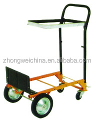 Trade Assurance china best sell cheap building hand pull trolley